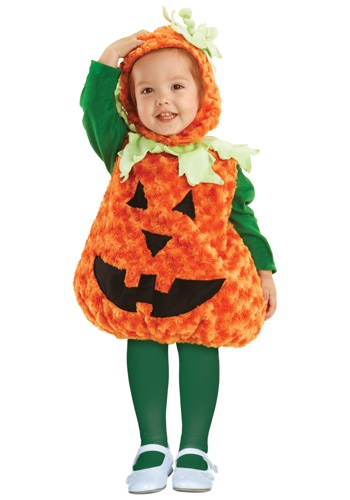 Toddler Plush Pumpkin Costume