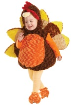 Toddler Gobbles the Turkey Costume