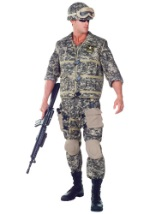 Deluxe Black Ops Soldier Costume