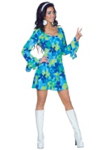 Flowered Wild Child Hippie Costume