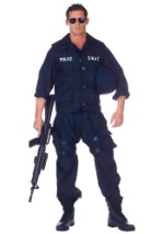 SWAT Officer Jumpsuit Costume