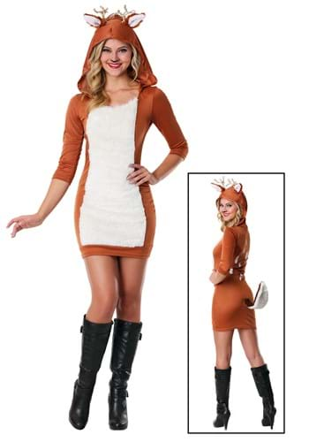 Womens Deer Costume