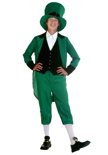 Teen Green Leprechaun Costume