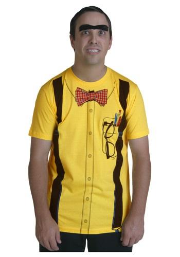 Yellow Nerd Costume T-Shirt