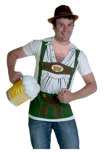German Oktoberfest Costume T-Shirt