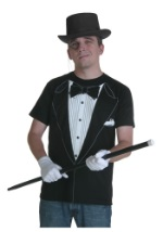 Black Tuxedo Costume T-Shirt