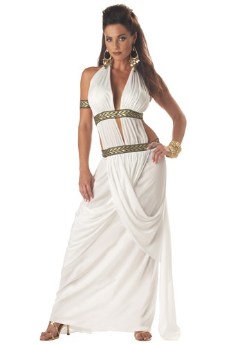Spartan Toga Queen Costume