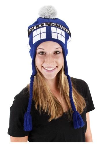 TARDIS Blue Laplander Hat