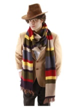 Fourth Doctor Who Multi Colored Long Scarf