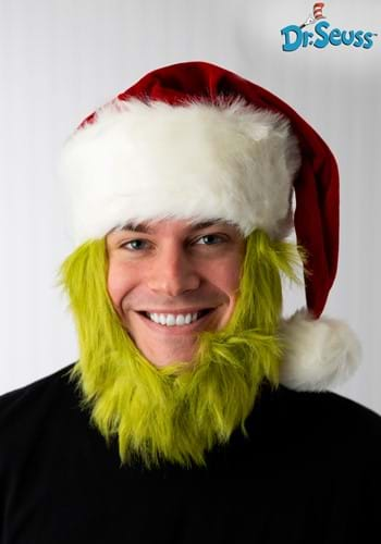 Mister Grinch Hat and Beard