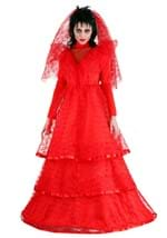 Lacy Red Gothic Gown Costume