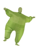Large Inflatable Lime Green Man Costume