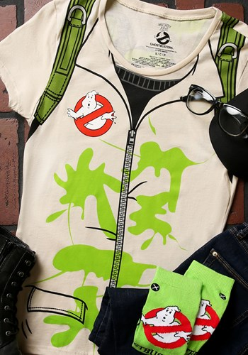 Womens Ghostbusters Costume TShirt