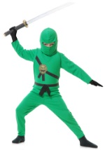 Boys Little Green Ninja Costume