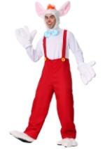 Plus Cartoon Rabbit in Suspenders Costume