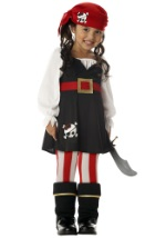 Girls Toddler Buccaneer Costume
