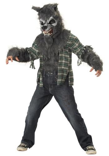 Boys Howling Werewolf Costume