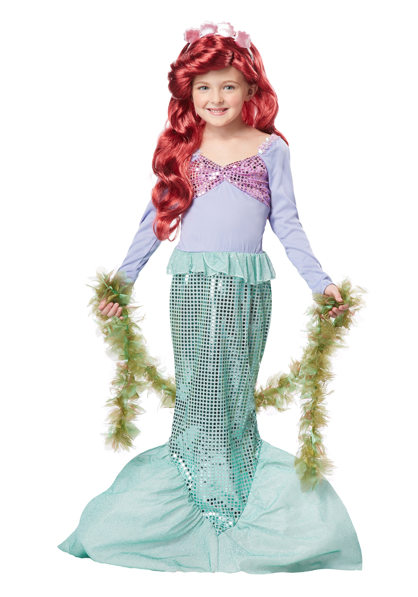 Girls Mermaid Costume  sc 1 st  Halloween Costume & Girls Mermaid Costume - Kids Little Mermaid Costumes