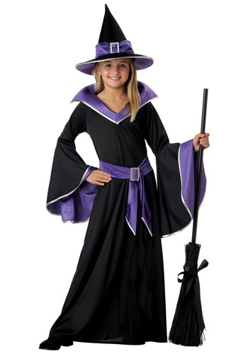 Girls Cackling Witch Costumes