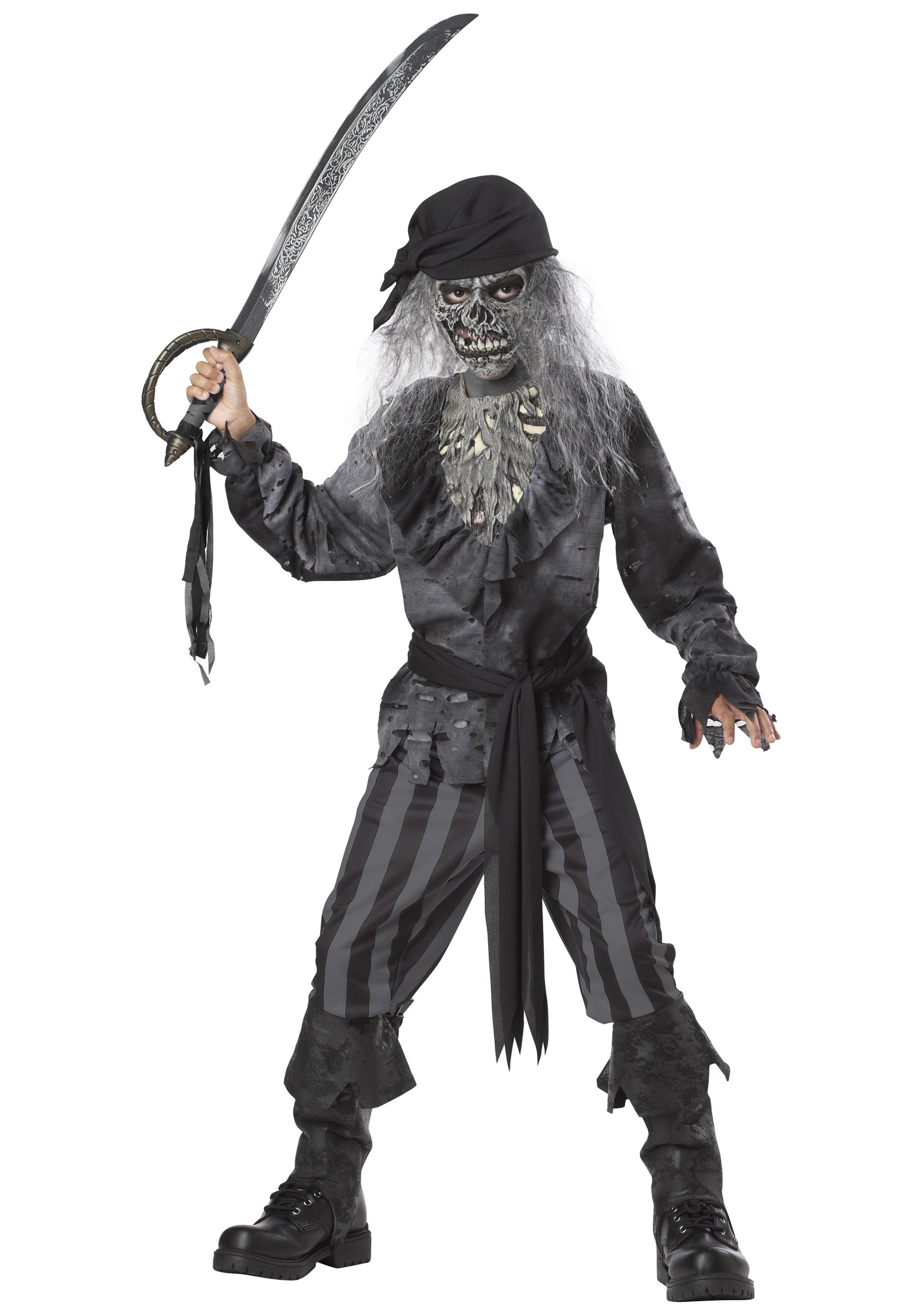 Boysu0027 Ghost Ship Pirate Costume  sc 1 st  Halloween Costume & Boysu0027 Ghost Ship Pirate Costume - Scary Halloween Costumes for Tweens