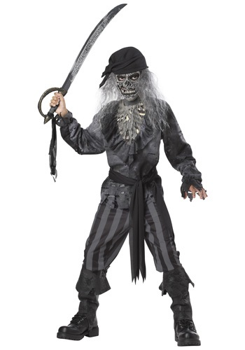 Boys' Ghost Ship Pirate Costume