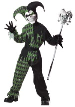 Child Demonic Jester Costume