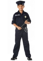 Kids Police Officer Costume