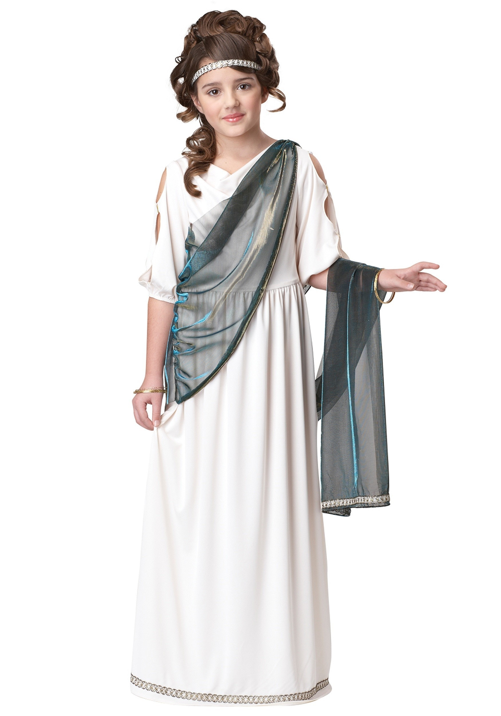 Girls Greek Goddess Costume  sc 1 st  Halloween Costume & Girls Greek Goddess Costume - Child Toga Costumes
