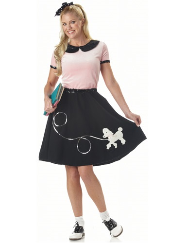 Ladies Sock Hop Costume