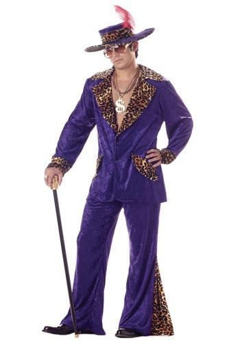 Purple Mac Daddy Costume