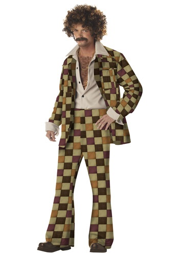 Adult Disco Leisure Suit