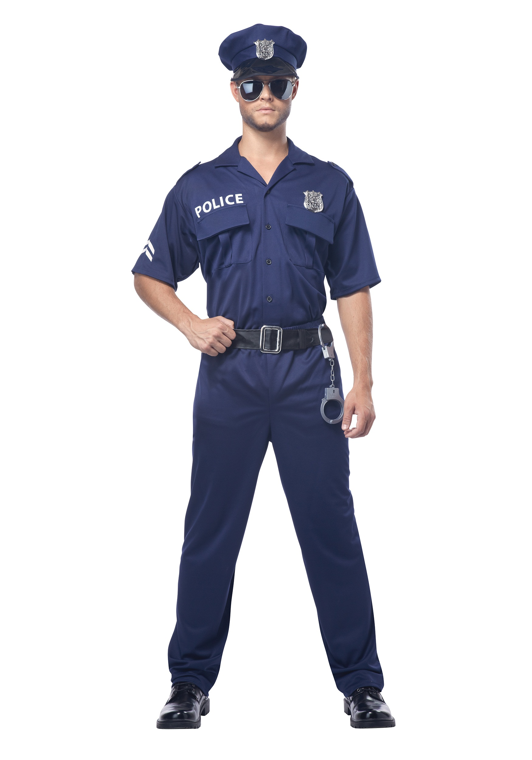 Adult Cop Costume  sc 1 st  Halloween Costume & Adult Police Officer Costume - Menu0027s Sexy Cop Costumes