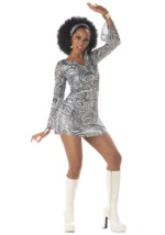 Sexy Adult Disco Diva Dress