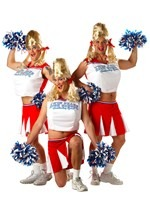 Cheerleader Dude Costume
