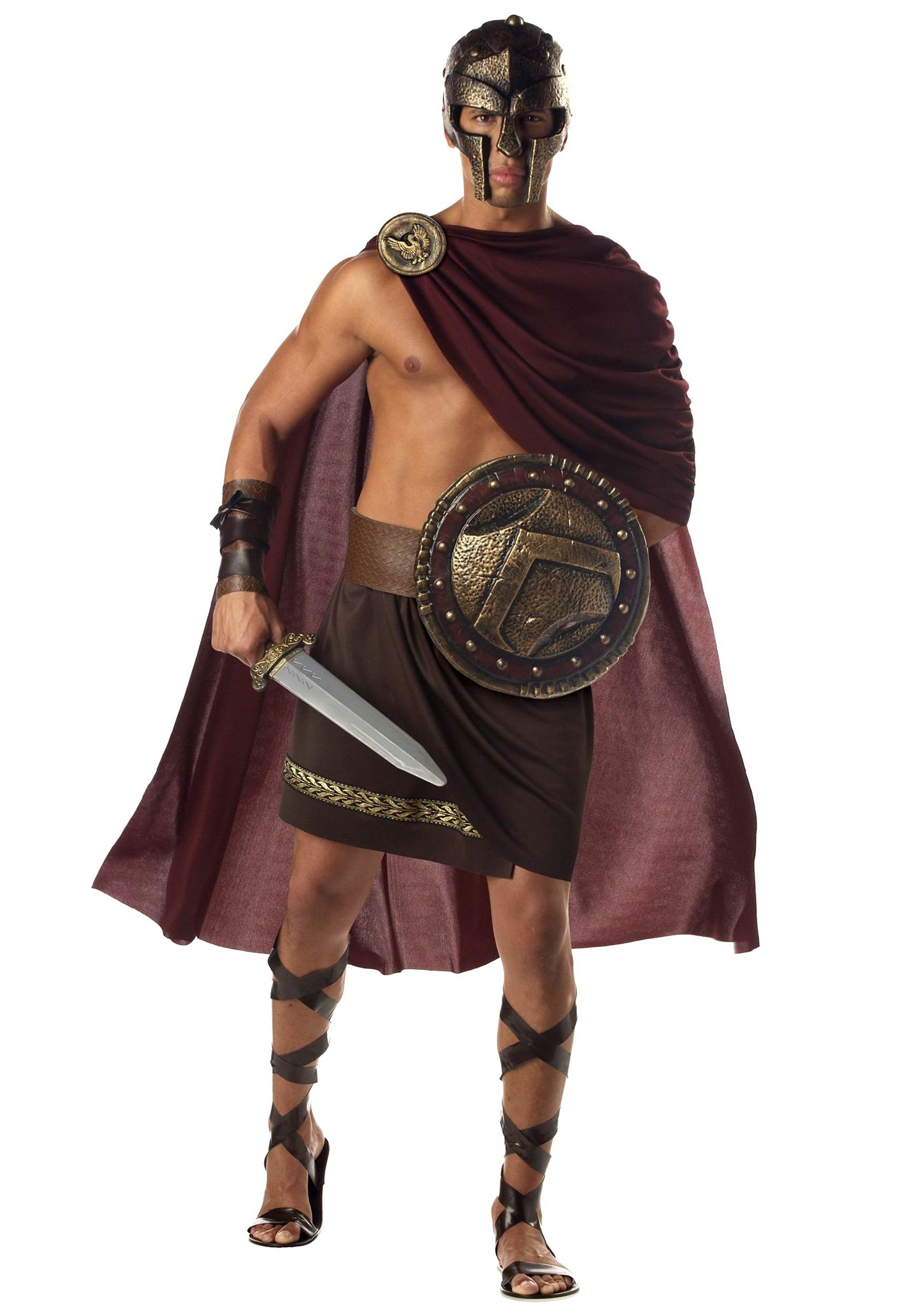 Spartan Halloween Costume  sc 1 st  Halloween Costume & Spartan Warrior Costumes - Halloween 300 Spartan Costumes