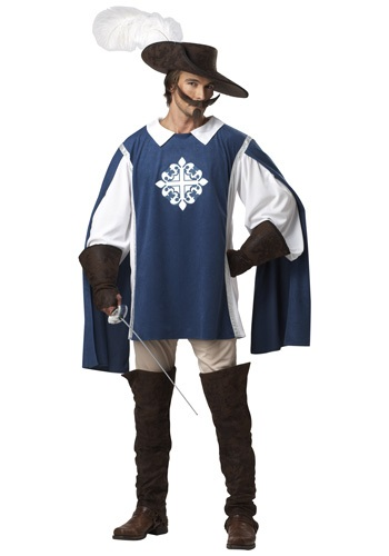 Mens Brave Musketeer Costume