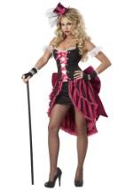 Plus Sexy Parisian Showgirl Costume