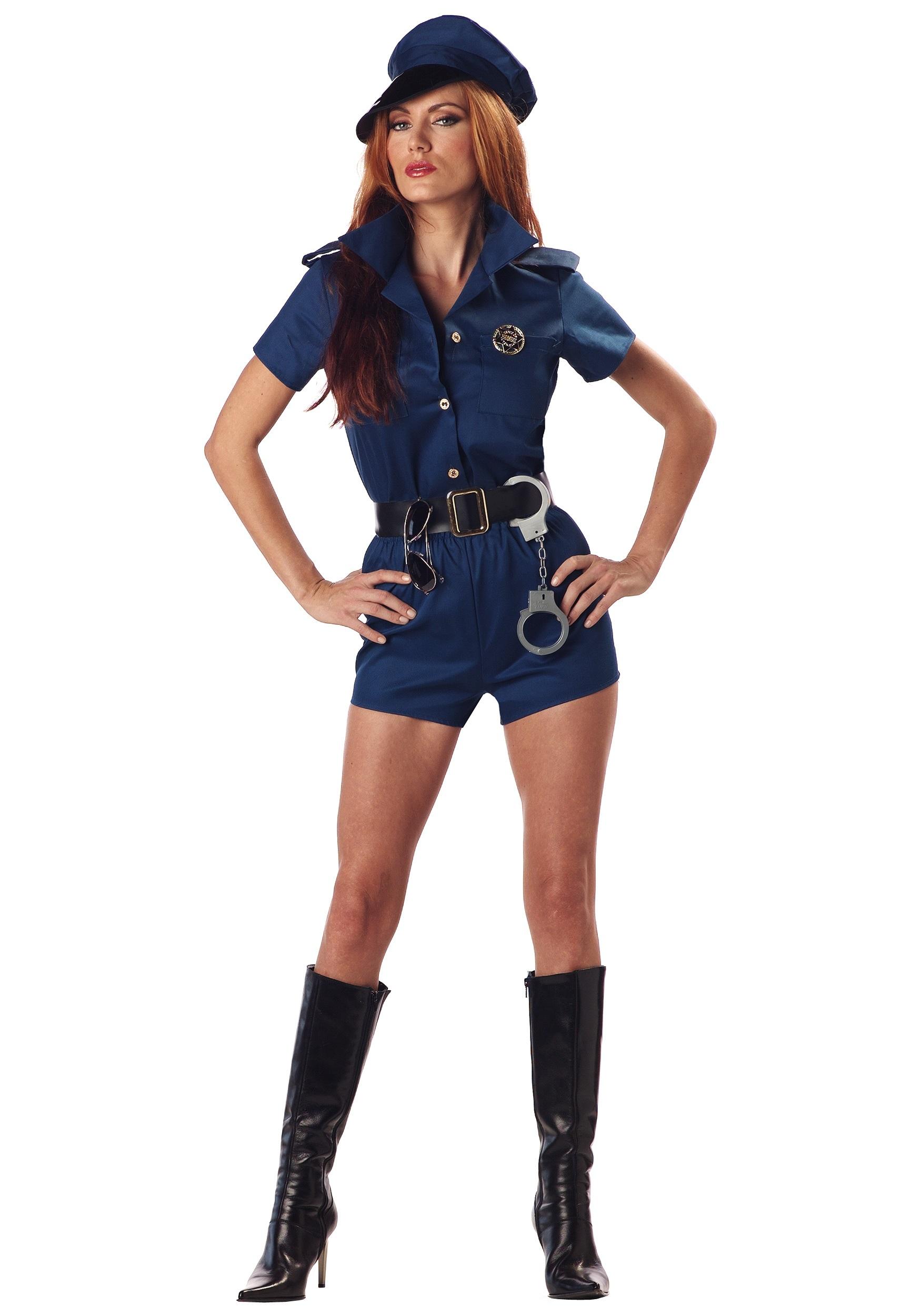 Sexy Plus Size Cop Costume