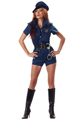 Sexy Lady Cop Costume