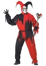 Plus Size Sinister Jester Costume