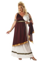 Plus Size Roman Goddess Costume