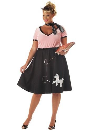 Ladies Plus Sock Hop Costume