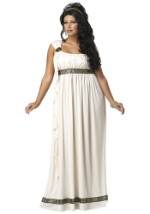 Olympic Plus Size Goddess Costume