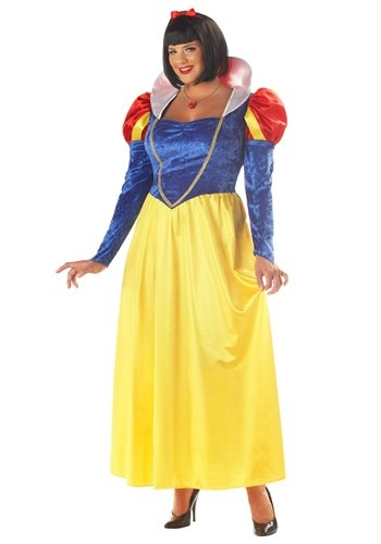 Plus Womens Deluxe Snow White Costume