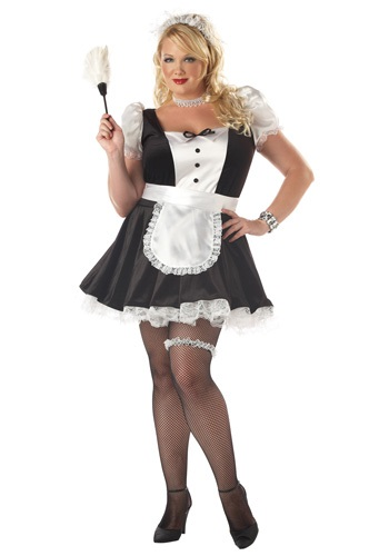 Plus Size Feisty French Fiona Costume
