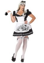 Plus Size Sexy Goth Alice Costume