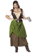 Tavern Maiden Plus Size Costume