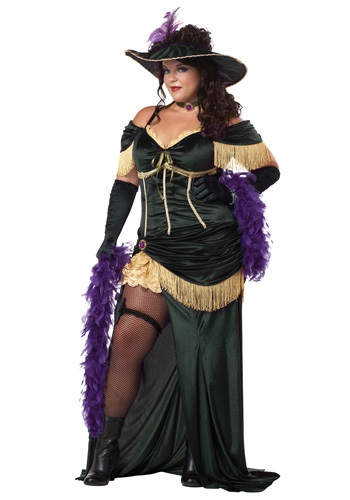 Plus Showgirl Madame Costume