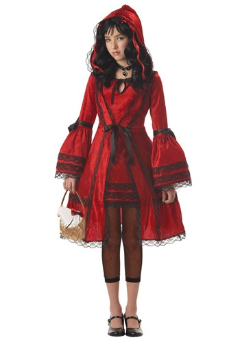 Teen Strangeling Little Red Costume