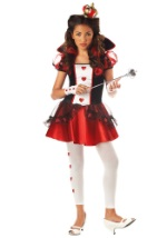 Girls Teen Queen of Hearts Costume